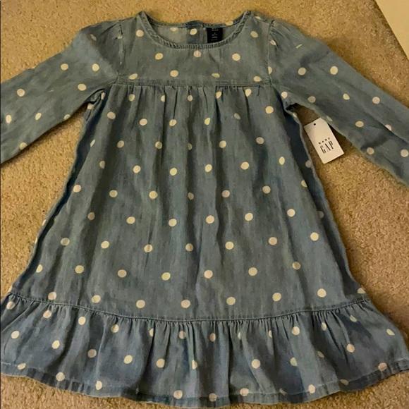 Gap kids denim dress 4t